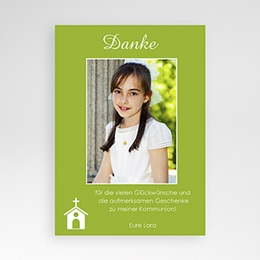 Dankeskarten Kommunion Mädchen Cloe
