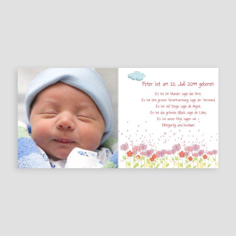 Geburtskarten für Mädchen Freudensprung pas cher