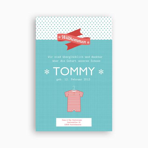 Babykarten für Jungen - Tommy 14231