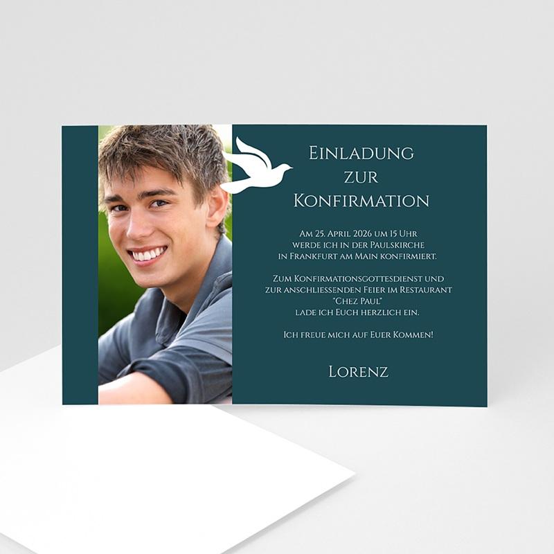 Einladungskarten Konfirmation   Kommunionskarte   1