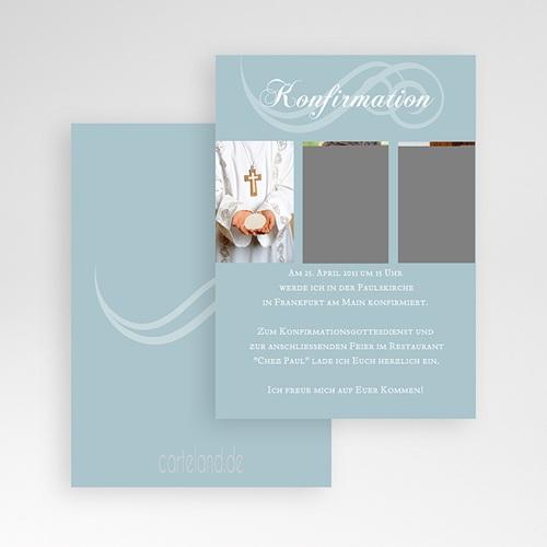 Einladungskarten Konfirmation - Samson 14649 preview