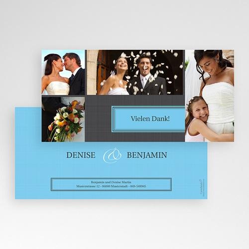 Dankeskarten Hochzeit Tour pas cher
