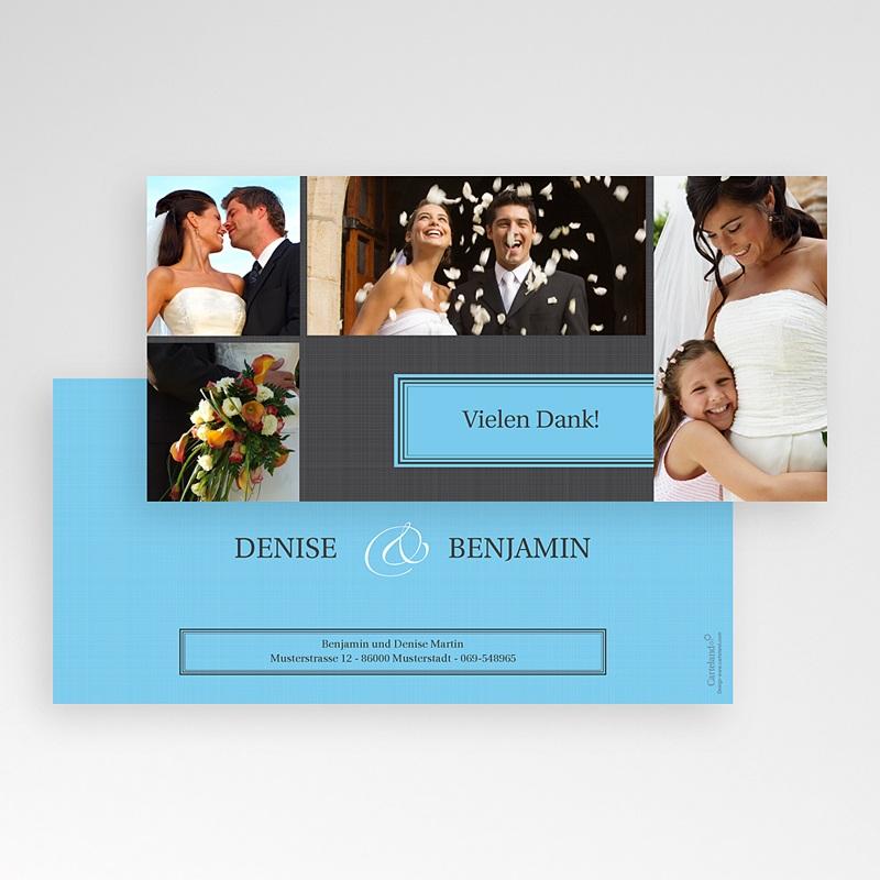 Dankeskarten Hochzeit - Tour 14721 thumb