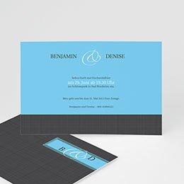 Einlegekarte individuell Donna