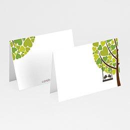 Tischkarten Hochzeit personalisiert Blühend