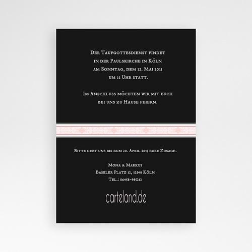 Einladungskarten Taufe Mädchen - Krischna 14781 preview