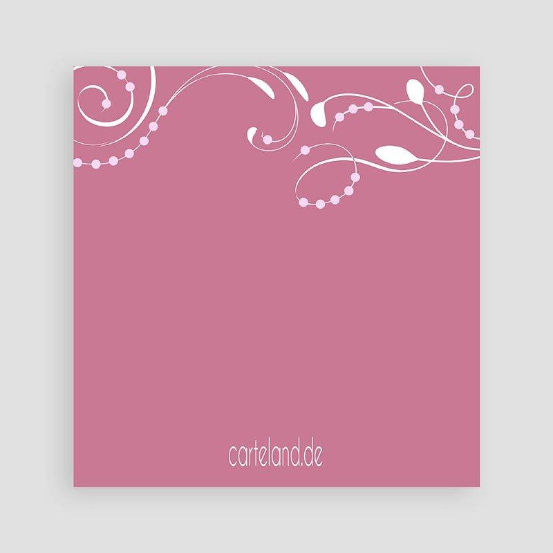 Einladungskarten Taufe für Mädchen Stilvoll pas cher