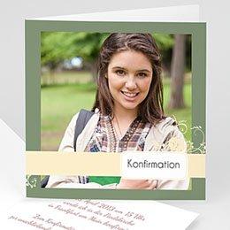 Einladungskarten Konfirmation - Hochzeitskarte - 1