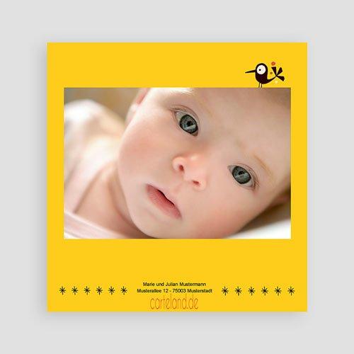 Geburtskarten für Mädchen Piep Piep pas cher