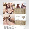 Hochzeitseinladungen mit Foto Puzzle
