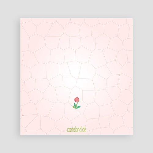 Geburtstagseinladungen Mädchen Rosa Tulpen pas cher