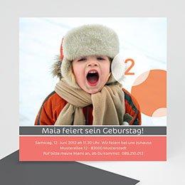 Einlegekarte Kindergeburtstag Maya