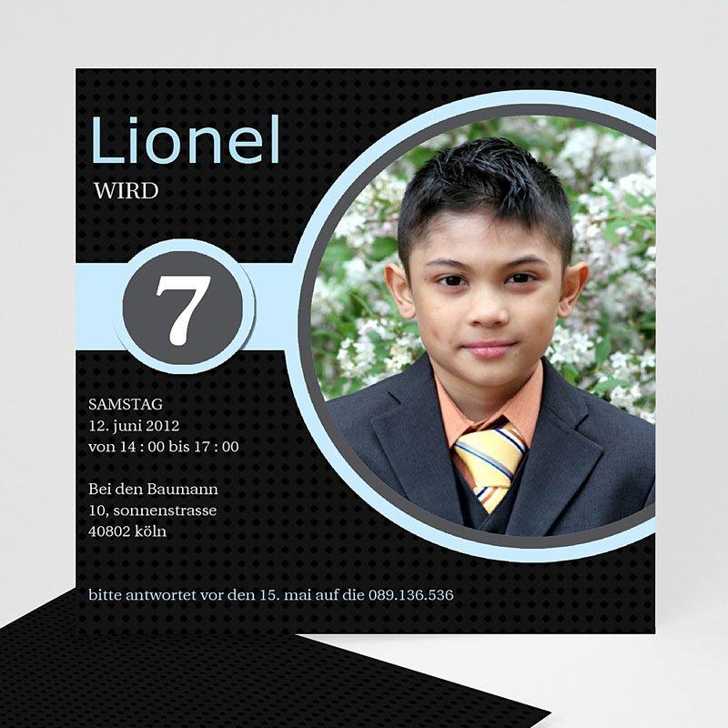Einladungskarten Geburtstag Jungen Lionel