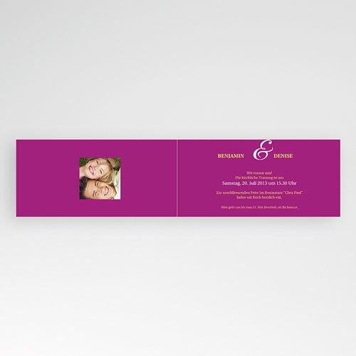Einladungskarten Hochzeit  - Grace 15407 test