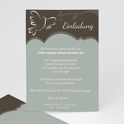 Einladungskarten Taufe Mädchen - Leni 15457