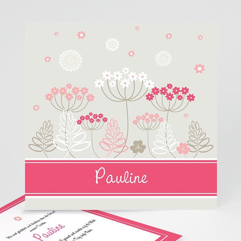 Geburtskarten für Mädchen Pauline