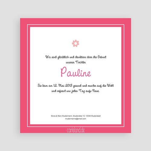 Geburtskarten für Mädchen - Pauline 15538 preview