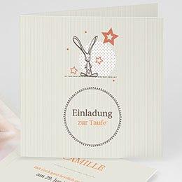 Einladungskarten Taufe Mädchen Hauchzart