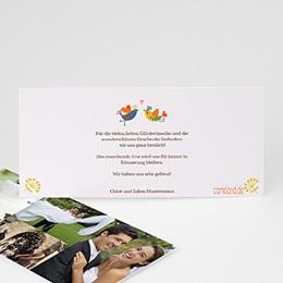 Danksagungskarten Hochzeit  - L'arbre enchanté - 1