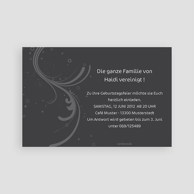 Erwachsener Einladungskarten Geburtstag Feierlich pas cher