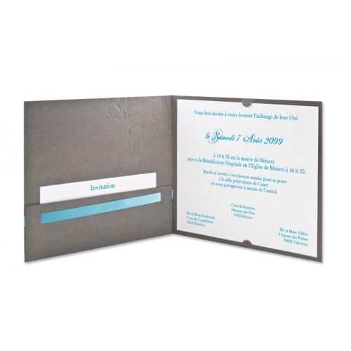 Archivieren - Grau, blaue Schleife  15613 preview