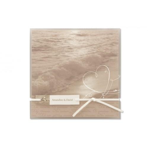Archivieren - Einladung Wellen am Strand JY-110 15730