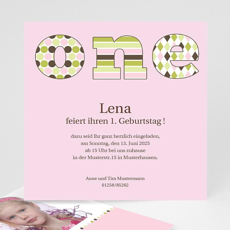 Einladungskarten Geburtstag Mädchen Sarah