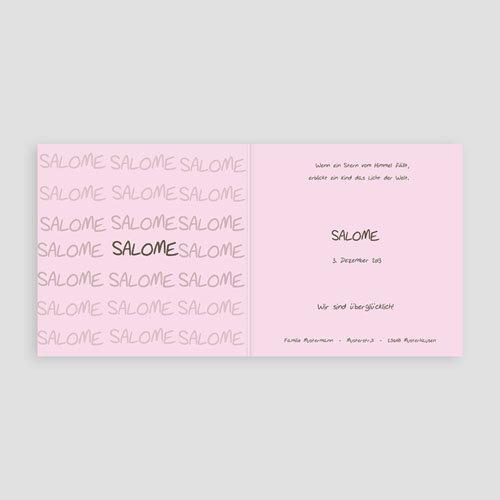 Geburtskarten für Mädchen Lana pas cher