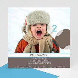 Einlegekarte Kindergeburtstag Kinderfeier
