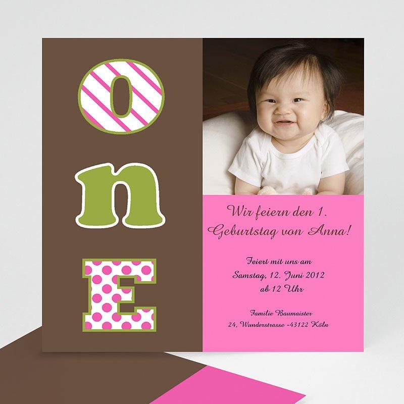 Einladungskarten Geburtstag Mädchen Moi