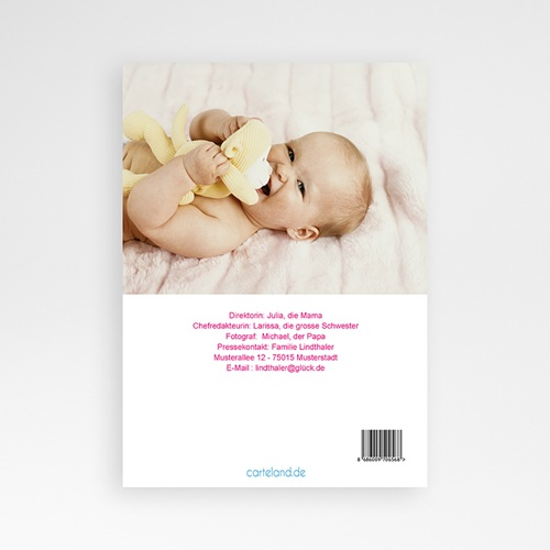 Geburtskarten für Mädchen - Baby News 16101 preview