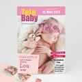 Geburtskarten für Mädchen Babystar