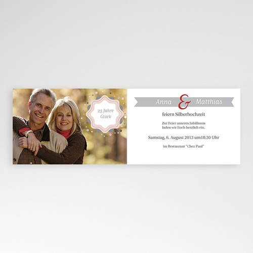 Silberhochzeit und goldene Hochzeit  - Damals und Heute 16131 test