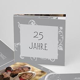 Einlegekarte Anniversaire mariage 25 Jahre Glück