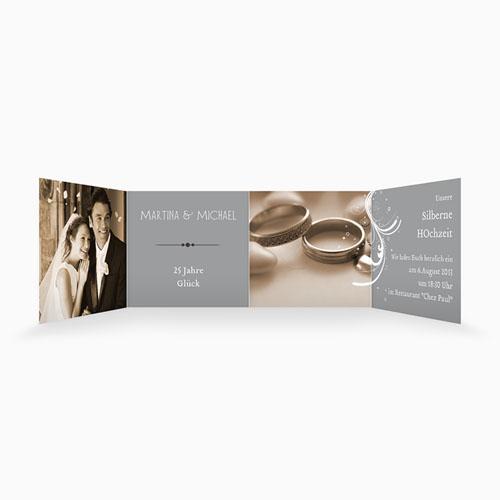 Silberhochzeit und goldene Hochzeit  - 25 Jahre Glück 16133 thumb