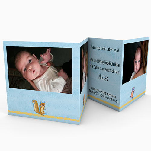 Babykarten für Jungen - Arche 16238 preview