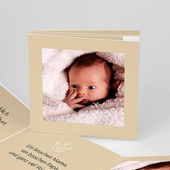 Geburtskarten für Mädchen - Geburtskarten 2023 - 1