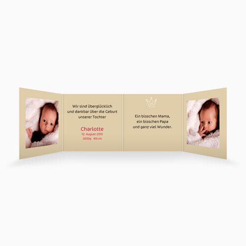 Geburtskarten für Mädchen - Welcome 16240 test