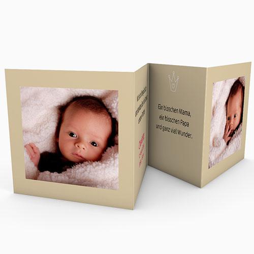 Geburtskarten für Mädchen - Welcome 16241 test