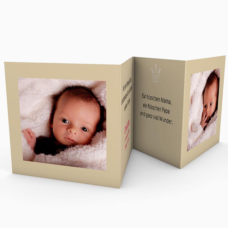 Geburtskarten für Mädchen - Welcome 16241 thumb