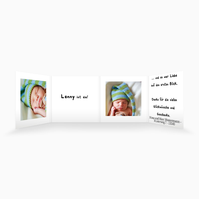 Geburtskarten für Jungen - Fiete 16347 thumb