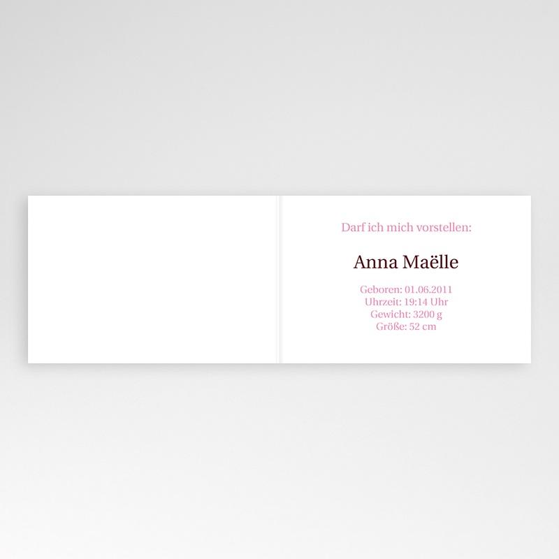 Geburtskarten für Mädchen - Marta 16389 thumb
