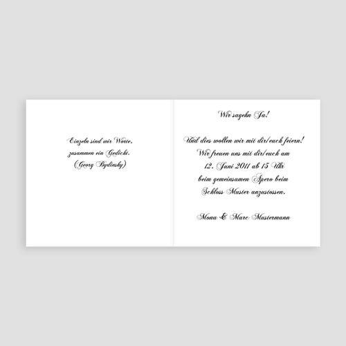 Hochzeitseinladungen modern - Modernes Design 16555 preview