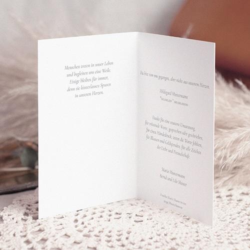 Trauer Danksagung christlich - Das Kreuz der Hoffnung 16595 preview