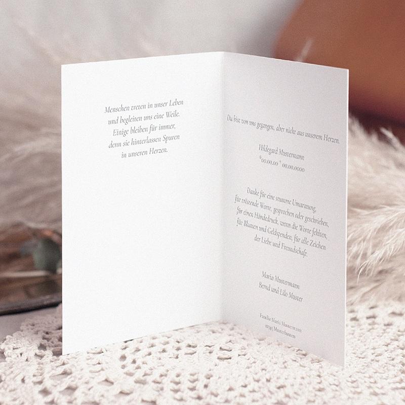 Christlich Dankeskarten Trauer Das Kreuz der Hoffnung pas cher