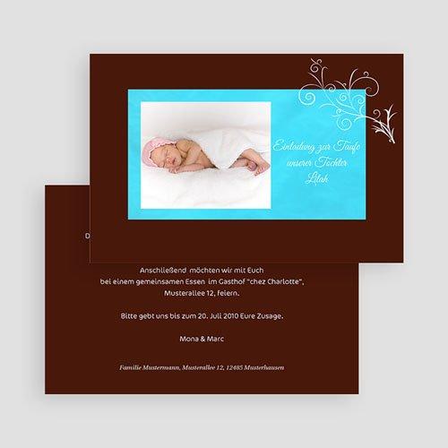 Einladungskarten Taufe Jungen  - Hugo 16615 preview