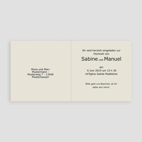 Hochzeitseinladungen modern - Arabeske 16636 preview