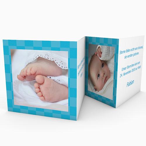 Geburtskarten für Jungen - Aufsteller 16646 thumb