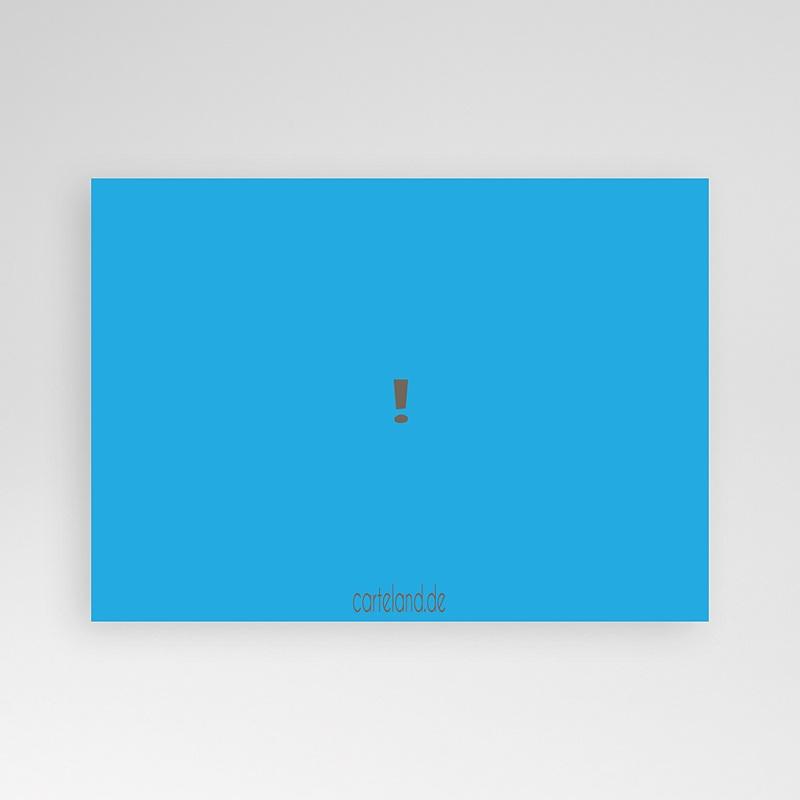 Erwachsener Einladungskarten Geburtstag Grau blau pas cher