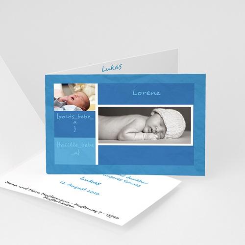 Archivieren - Blautöne Baby 16702